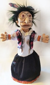 Witch puppet-